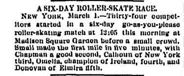 Chicago Daily Tribune 2 mars 1885